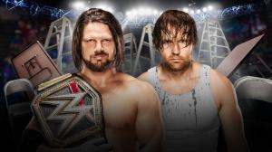 AJ Styles, Dean Ambrose, WWE TLC 2016