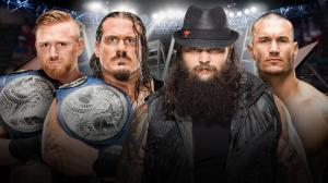 WWE TLC 2016, Bray Wyatt, Randy Orton, Heath Slater, Rhyno