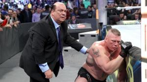 Paul Heyman, Brock Lesnar, WWE Survivor Series 2016