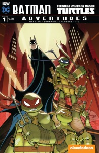 Batman/Teenage Mutant Ninja Turtles #1, cover