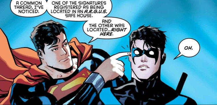 nightwing #9, 2016, Superman, Marcio Takara