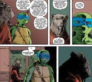 Teenage Mutant Ninja Turtles #64, 2016, Dave Watcher, Splinter explanation