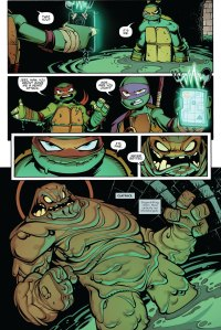 Batman/TMNT Adventures #1, Clayface