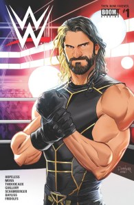 WWE: Then Now Forever #1, Seth Rollins, Cover