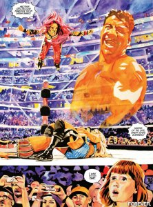 WWE Then Now Forever #1, Rob Schamberger, Eddie Guerrero, Sasha Banks