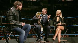 WWE Smackdown, December 6, 2016, Dean Ambrose, Miz, Maryse