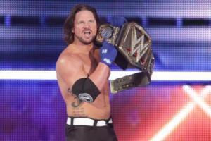 AJ Styles, WWE Champion