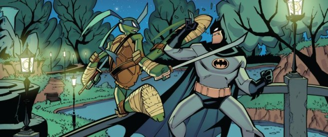 Batman/TMNT Adventures #2, Jon Sommariva