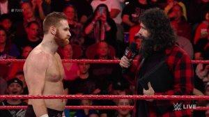 WWE Raw, December 12, 2016, Sami Zayn, Mick Foley