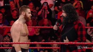 WWE Raw, December 12, 2016, Sami Zayn, Mick Foley