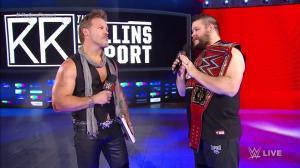 Chris Jericho, Kevin Owens, WWE Raw, December 12, 2016