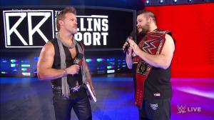 Chris Jericho, Kevin Owens, WWE Raw, December 12, 2016
