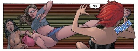 Geek-Girl #2, 2016, kick