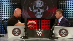 Stone Cold Podcast, Vince McMahon