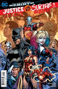 Justice League vs. Suicide Squad #1, cover, Jason Fabok