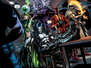 Justice League vs. Suicide Squad, team shot, Jason Fabok