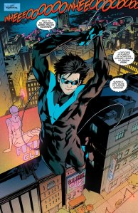 nightwing #10, 2016, Marcus To, splash page