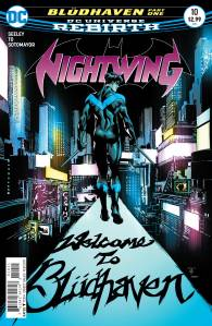 Nightwing #10, 2016, cover, Marcus To