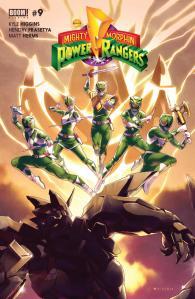 Mighty Morphin Power Rangers #9, 2016