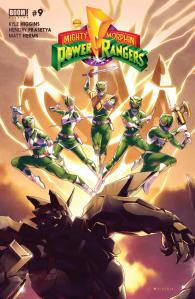 Mighty Morphin Power Rangers #9, 2016