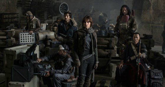 Rogue One, cast photo