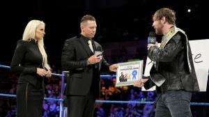 The Miz, Maryse, Dean Ambrose, WWE Smackdown, January 10, 2017