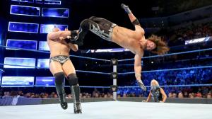 AJ Styles vs. The Miz, WWE Smackdown, January 17, 2017