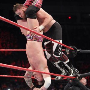 Sami Zayn, Chris Jericho, WWE Raw, January 20, 2017