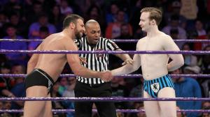 Drew Gulak, Jack Gallagher, WWE Raw, January 9, 2017