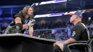 WWE Smackdown, January 3, 2017, AJ Styles, John Cena