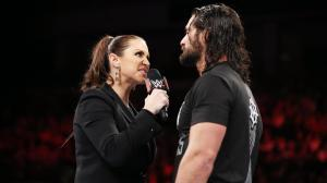 Stephanie McMahon, Seth Rollins, WWE Raw, January 30, 2017