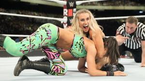 Charlotte Flair, Bayley, WWE Royal Rumble 2017