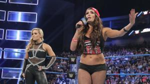 Natalya, Nikki Bella, WWE Smackdown, January 3, 2017
