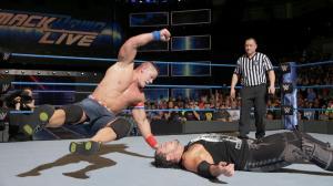 John Cena, Baron Corbin, WWE Smackdown, January 10, 2017