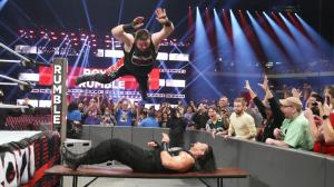 Kevin Owens, Roman Reigns, WWE Royal Rumble 2017