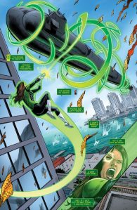 Green Lanterns #15, submarine scene