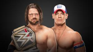 AJ Styles vs. John Cena, WWE Royal Rumble 2017