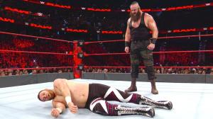 Braun Strowman, Sami Zayn, WWE Raw, January 2, 2017