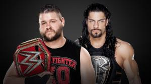 Kevin Owens vs. Roman Reigns, WWE Royal Rumble 2017