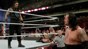 WWE Royal Rumble 2017, Undertaker, Roman Reigns