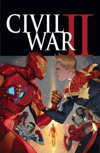 Civil War II, cover