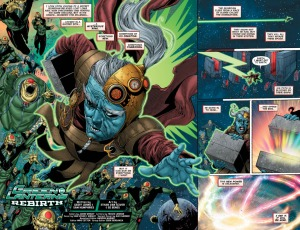Ethan Van Sciver, Green Lanterns Rebirth #1, 2016