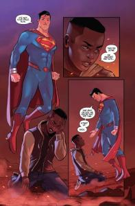 Justice League/Mighty Morphin Power Ragners #1, Zack, Superman