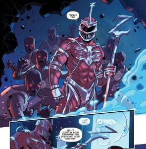 Justice League/MMPR #1, Lord Zedd, John Byrne