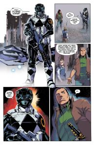 Mighty Morphin Power Rangers #11, Hendry Prasetya, Mastadon Senties