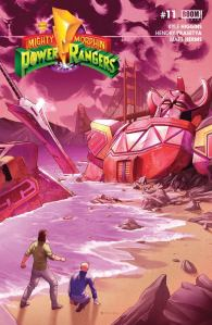 Mighty Morphin Power Rangers #11, 2017, Jamal Campbell
