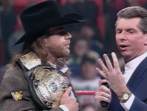 Shawn Michaels, Vince McMahon, WWF Raw, January 27, 1997