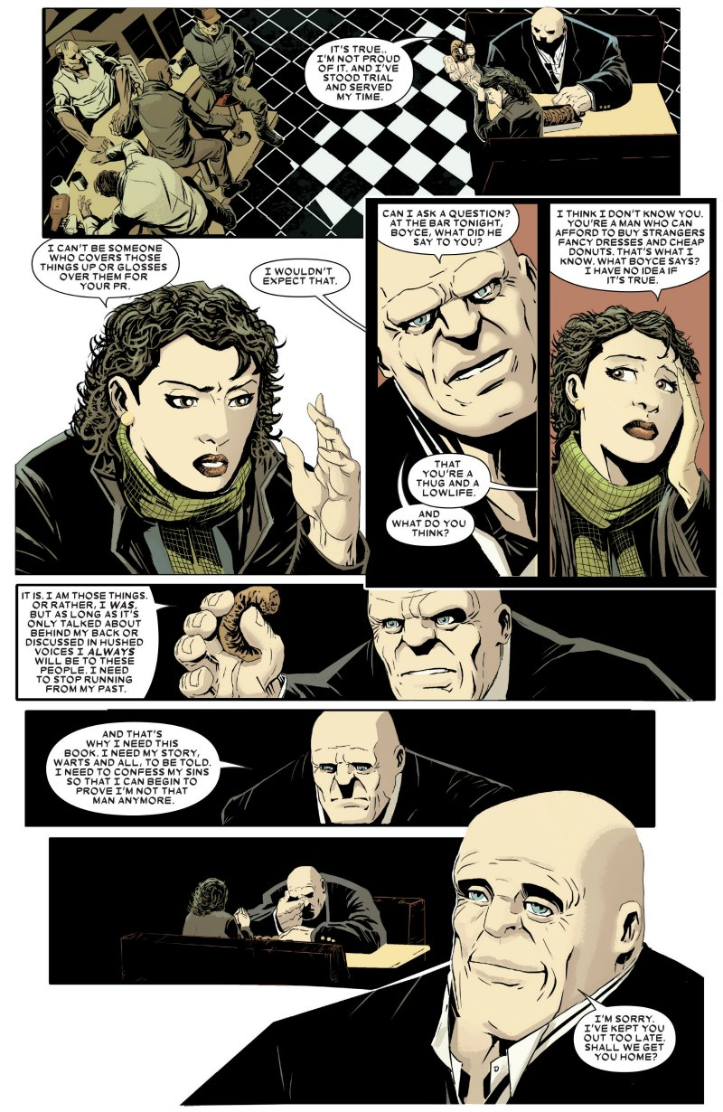 A Kingpin #1 Review – Mr  Nice Guy | Primary Ignition
