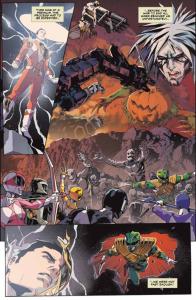 Mighty Morphin Power Rangers #12, Hendry Prasetya, big fight