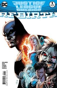 Justice League of America: Rebirth #1, 2017, Ivan Reis
